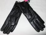 Женские перчатки кожа/махра 83-8