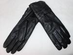 Женские перчатки кожа/махра 83-7