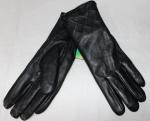 Женские перчатки кожа/махра 83-6