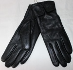Женские перчатки кожа/кролик 68-9