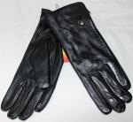 Женские перчатки кожа/кролик 68-1