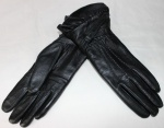 Женские перчатки кожа/махра 85-1