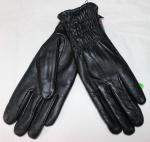Женские перчатки кожа/махра 85-3