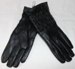 Женские перчатки кожа/махра 85-9