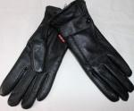 Женские перчатки кожа/махра 85-5