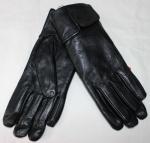 Женские перчатки кожа/махра 85-6