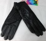 Женские перчатки кожа/махра 85-8