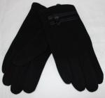 Мужские перчатки трикотаж/флис 818-6
