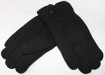 Мужские перчатки трикотаж/иск.мех 820-2