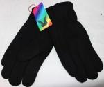 Мужские перчатки трикотаж/иск.мех 820-5