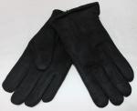 Мужские перчатки замша/иск.мех 869-4