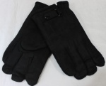 Мужские перчатки замша/иск.мех 869-5