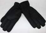 Мужские перчатки замша/иск.мех 869-1