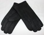 Мужские перчатки замша/иск.мех 869-3