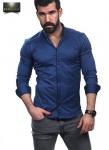 Мужские рубашки длинный рукав 30-61-417