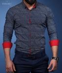 Мужские рубашки длинный рукав 33-01-601