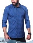 Мужские рубашки длинный рукав 33-19-701