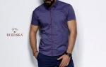 Мужские рубашки короткий рукав 34-07-711