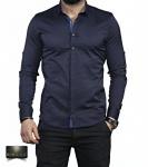 Мужские рубашки длинный рукав 35-01-648