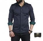 Мужские рубашки длинный рукав 35-01-662