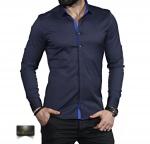 Мужские рубашки длинный рукав 35-01-667
