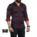 Мужские рубашки длинный рукав 35-01-670