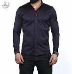Мужские рубашки длинный рукав 35-01-672