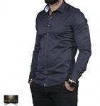 Мужские рубашки длинный рукав 35-01-673