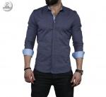 Мужские рубашки длинный рукав 35-01-675