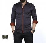 Мужские рубашки длинный рукав 35-02-574