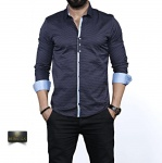 Мужские рубашки длинный рукав 35-02-647
