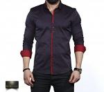 Мужские рубашки длинный рукав 35-02-650