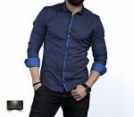 Мужские рубашки длинный рукав 35-02-655