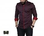 Мужские рубашки длинный рукав 35-02-670
