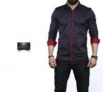 Мужские рубашки длинный рукав 35-02-672