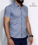 Мужские рубашки короткий рукав 35-06-712