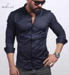 Мужские рубашки длинный рукав 35-07-416