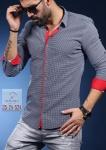 Мужские рубашки длинный рукав 35-24-524