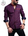 Мужские рубашки длинный рукав 35-51-161
