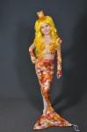 Новогодний костюм Золотая рыбка с хвостом
