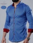 Мужские рубашки длинный рукав 35-21-735