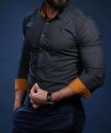 Мужские рубашки длинный рукав 36-01-615
