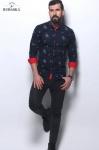 Мужские рубашки длинный рукав 36-01-628