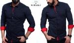 Мужские рубашки длинный рукав 36-01-643