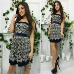 Модное женское платье М374