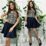 Модное женское платье М375