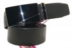 Мужской ремень цельная кожа, пряжка автомат 38 мм