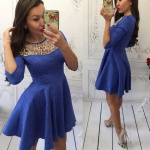 Модное женское платье М429