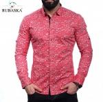 Мужские рубашки длинный рукав 44-01-641