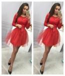 Модное женское платье М442